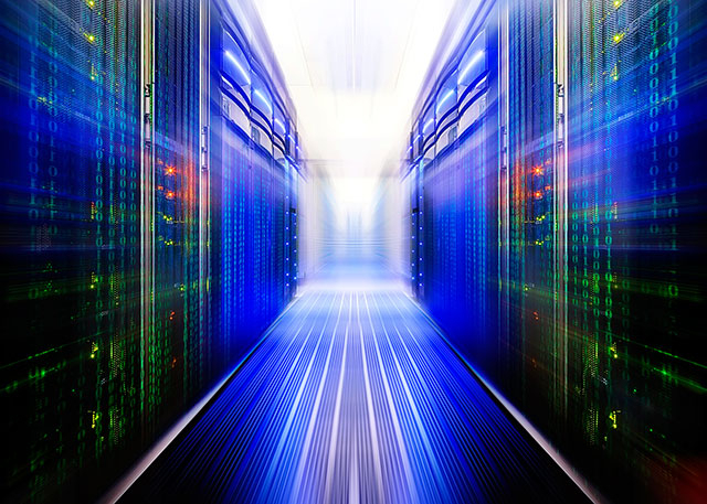 防災・セキュリティ対策万全のデータセンター